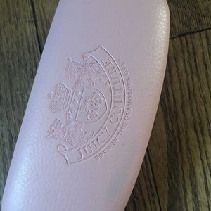 Juicy Couture glasses case